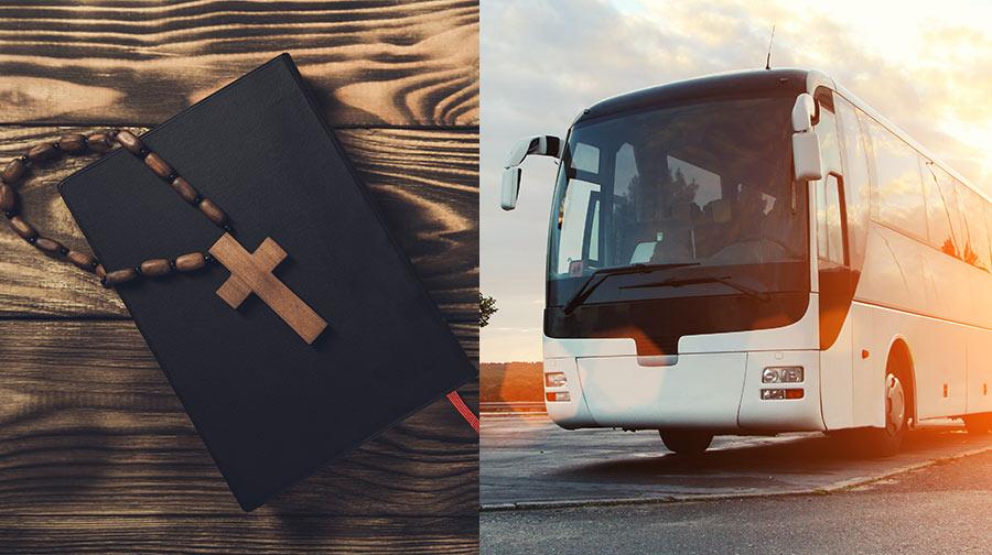 autobus na pielgrzymkę